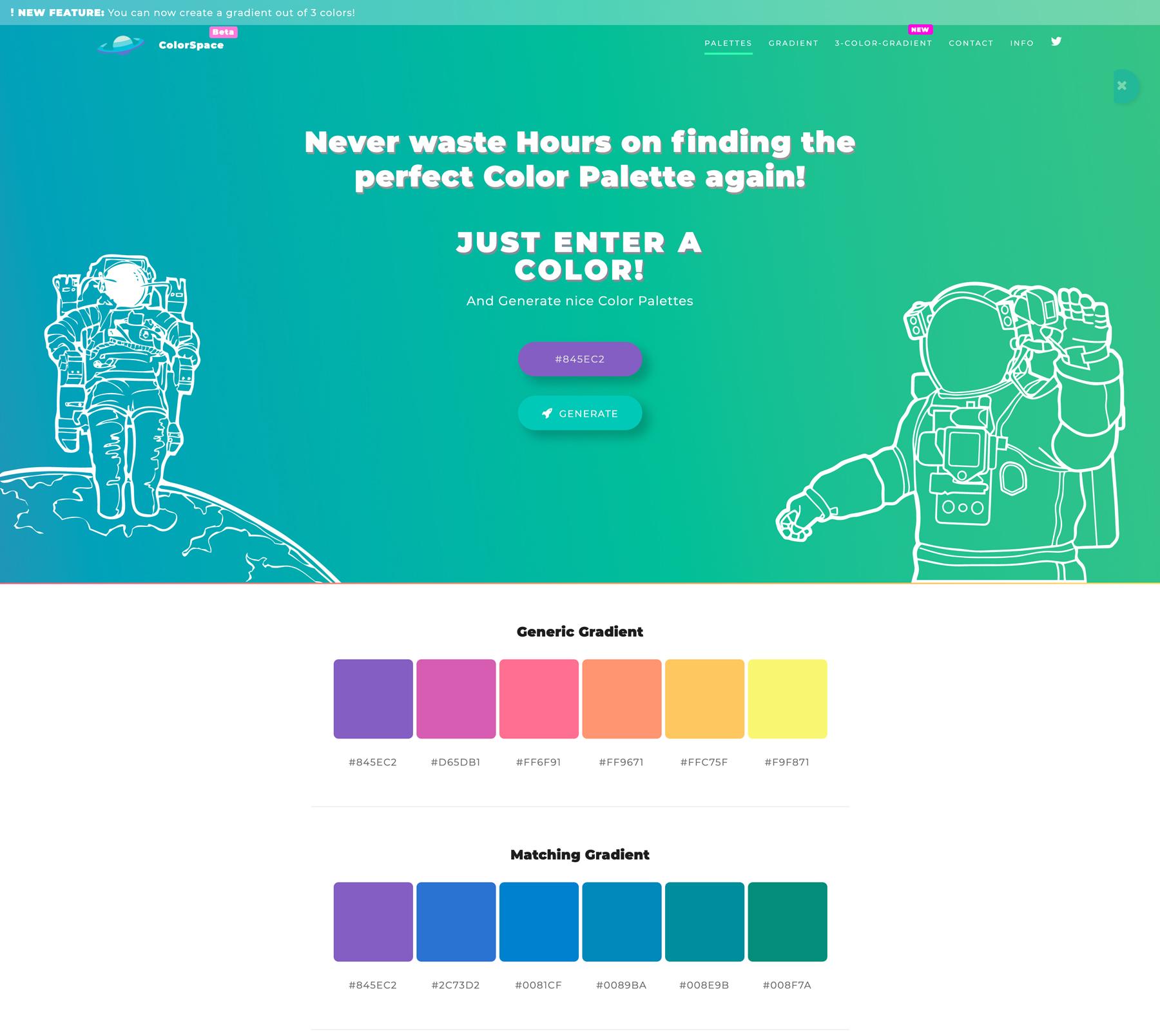 ColorSpace Screenshot