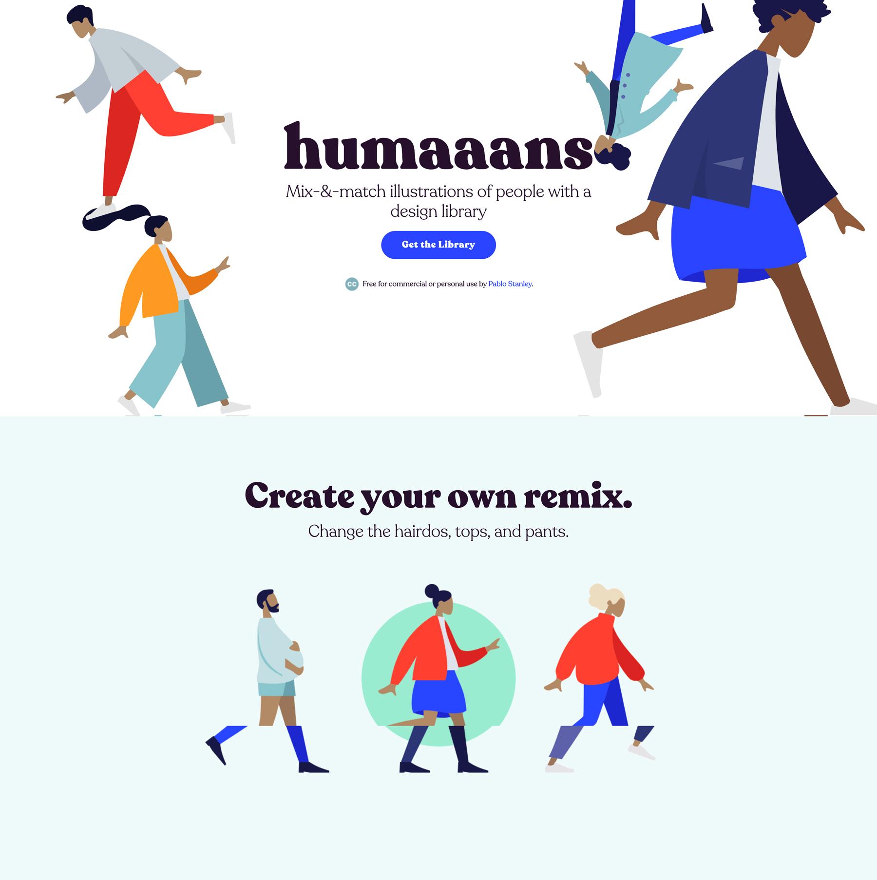 Humaaans Screenshot