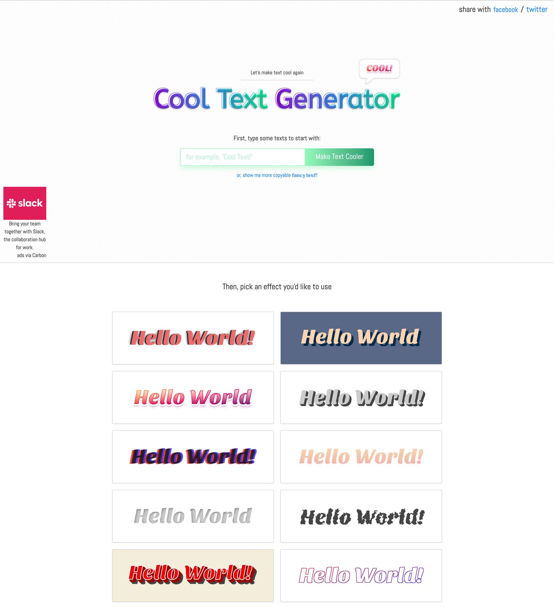 Maketext Screenshot